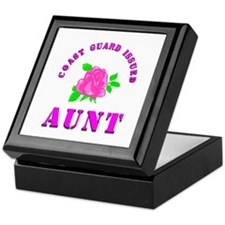 coast gurad aunt Keepsake Box