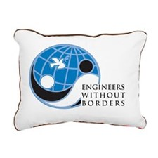 EWB-logo Rectangular Canvas Pillow