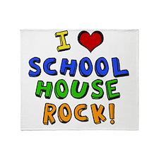 schoolhouserock Throw Blanket