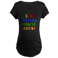 schoolhouserock Maternity Dark T-Shirt