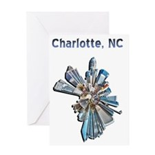 charlotte nc Greeting Card