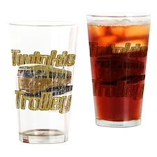 Twinkie Trolley t-shirt Drinking Glass