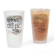 3-breakthechain Drinking Glass