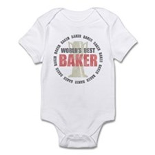 World's Best Baker Infant Bodysuit