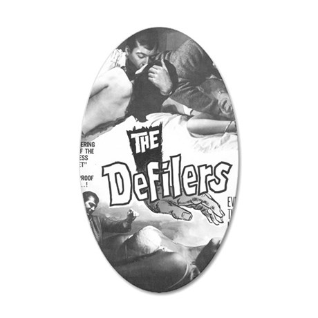 The Defilers 35x21 Oval Wall Decal