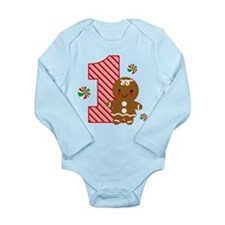 Gingerbread Girl 1st Birthday Baby Outfits