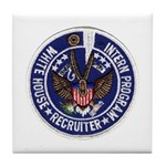 Presidential Intern Recruiter Tile Coaster