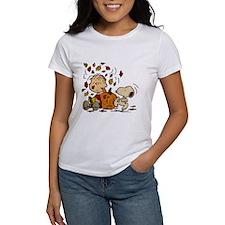 Fall Peanuts Women's T-Shirt