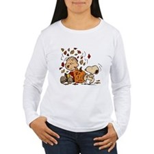 Fall Peanuts Women's Long Sleeve T-Shirt
