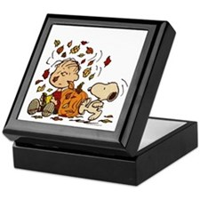 Fall Peanuts Keepsake Box