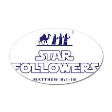 starfollowers_Light 35x21 Oval Wall Decal