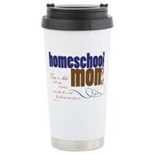 homeschool mom Ceramic Travel Mug