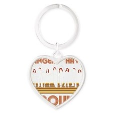 Gingers Have Soul Heart Keychain