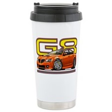 Pontiac_G8_orange Ceramic Travel Mug