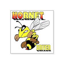 """HotHornet-10 Square Sticker 3"""" x 3"""""""