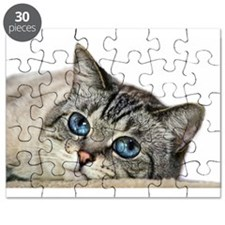 Blue Eyed Cat Puzzle
