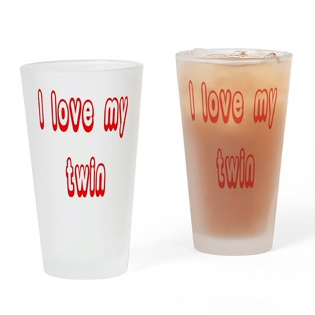 lovetwin Drinking Glass