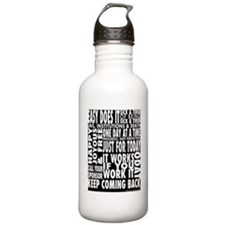 12 STEP SLOGANS Water Bottle