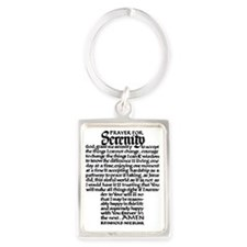 FULL SERENITY.PRAYER Portrait Keychain