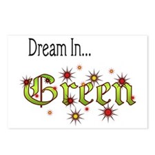 2-Dream In Green Postcards (Package of 8)