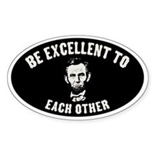 lincoln-excellent-CAP Stickers