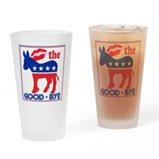 GoodBye-10 Drinking Glass