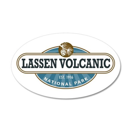 Lassen Volcanic National Park Wall Decal