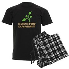 growDammitDark Pajamas