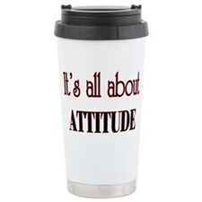 attitude Ceramic Travel Mug