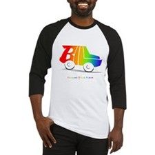 Bill rainbow car Baseball Jersey