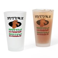 Future Italian Stallion Drinking Glass