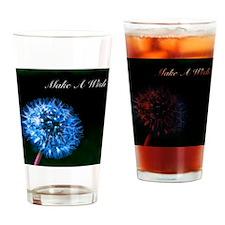 Biolumenescent Dandelion2 Drinking Glass