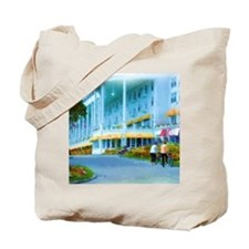 Mac Hotel Side-water Sq Tote Bag