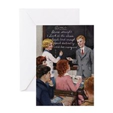 classroom1 Greeting Card