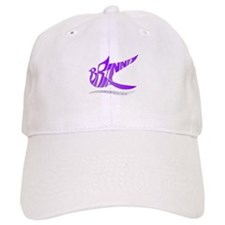 Brianna purple bird Baseball Cap