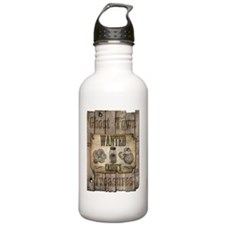ghost town Cashe Water Bottle