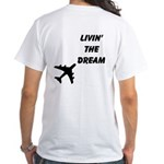 Living The Dream BLKWhite T-Shirt