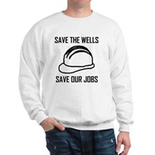 save the wells Sweatshirt