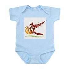 Brianna gold bird Infant Bodysuit