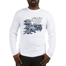 The Turtle and The Dolphin Long Sleeve T-Shirt