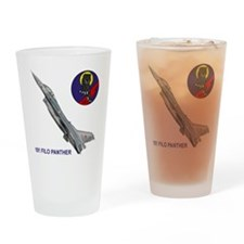 F-16_FILO_PANTHER_SQUADRON Drinking Glass