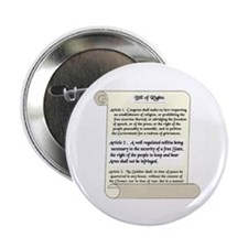 "Bill of Rights 2.25"" Button (10 pack)"