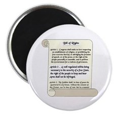 "Bill of Rights 2.25"" Magnet (100 pack)"