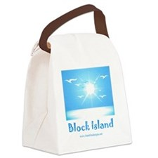block island Canvas Lunch Bag