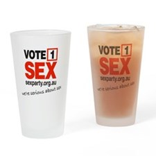vote1_serious Drinking Glass
