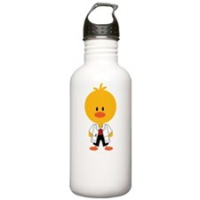 2-PodiatryChickDkT Water Bottle