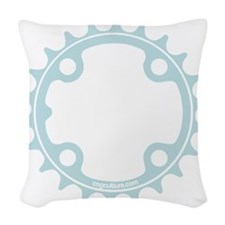ChainRing Woven Throw Pillow