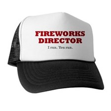 fireworks_director Trucker Hat