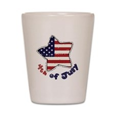 4thjuly3 Shot Glass
