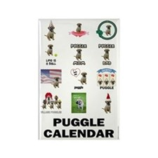 FIN-puggle-VERTCAL-cover Rectangle Magnet